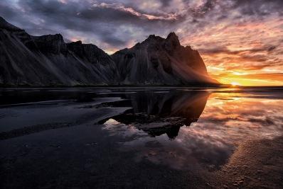 n02_901_Wolfgang-Kurz_Natur_Islnndischer-Sonnenaufgang